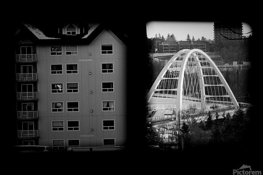 Building and Bridge  Print