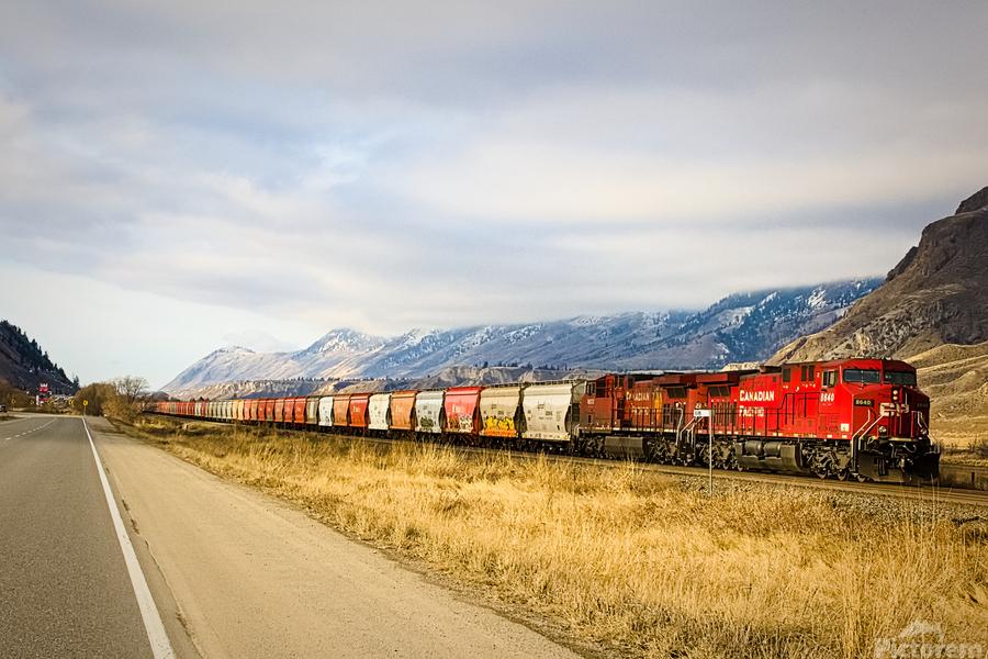 Great Canadian Railroad  Print