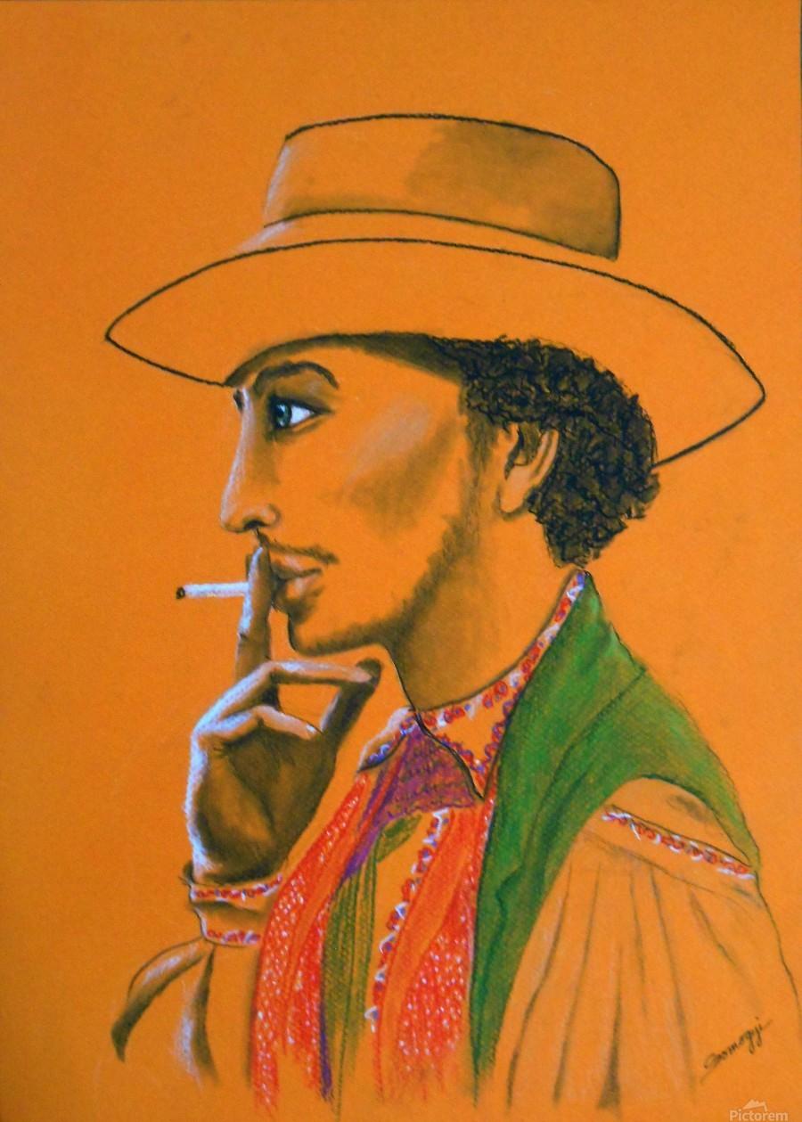 Gypsy Man  Print