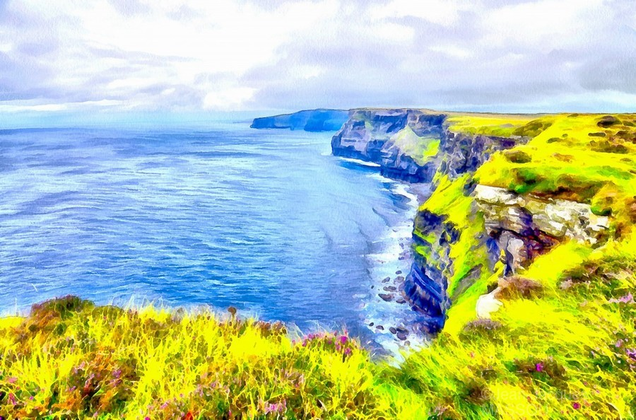 CLIFFS OF MOHER 1 AZO  Print