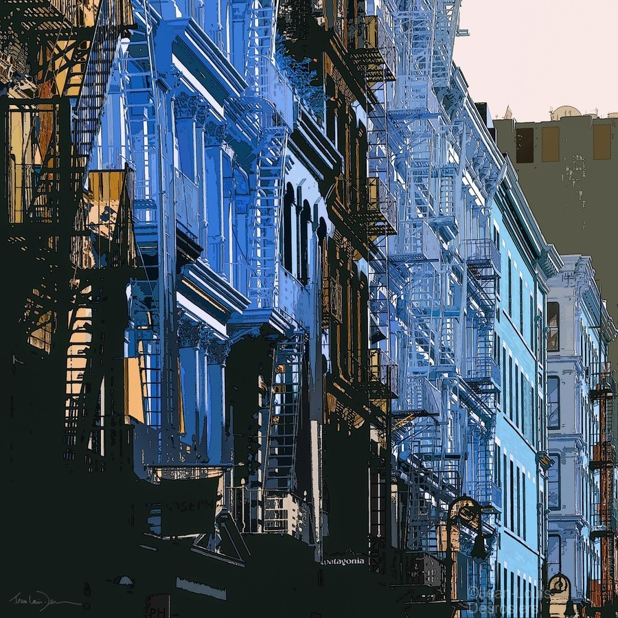 New York - SoHo   Print