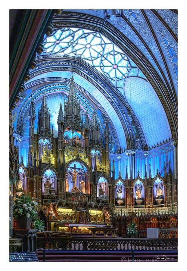 Basilique Notre-Dame Montréal  Print