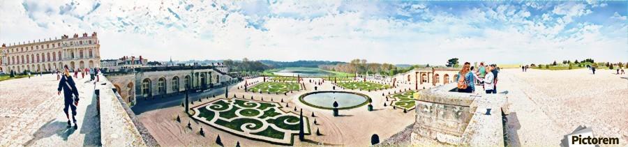 Versailles & Garden   Print