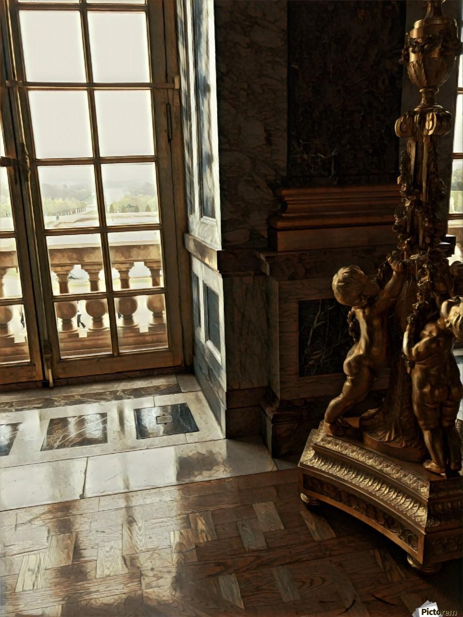Versailles & Window  Print