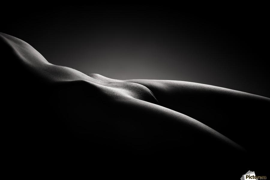 Bodyscape nude  Print