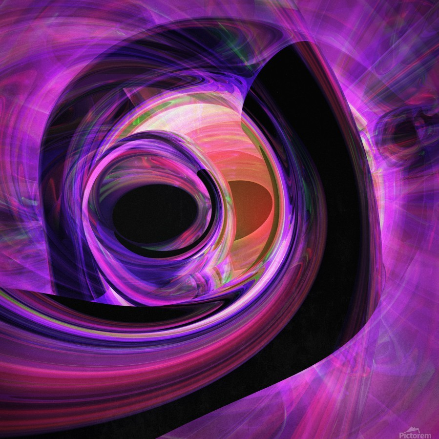 Abstract rendered artwork 3  Print