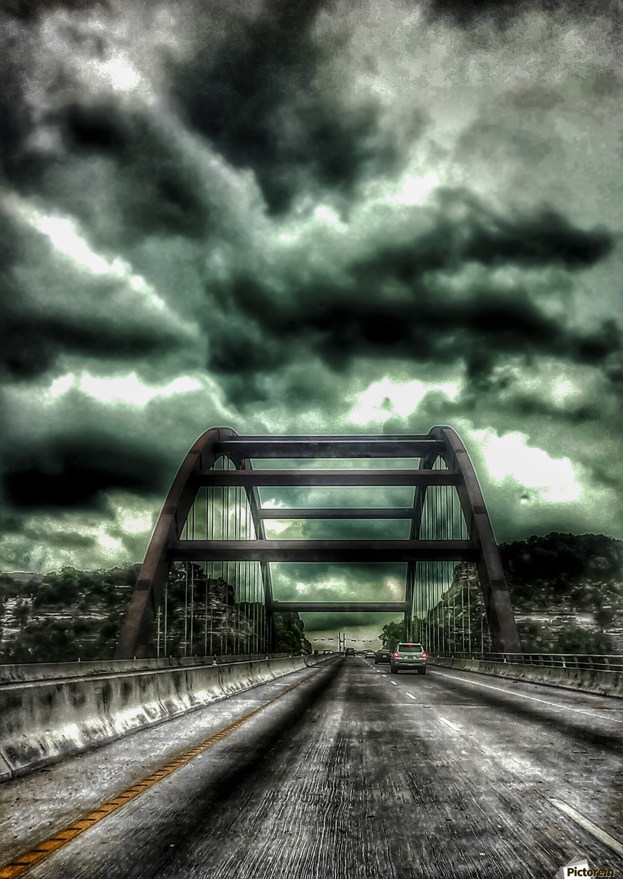 Pennybacker Bridge  Print