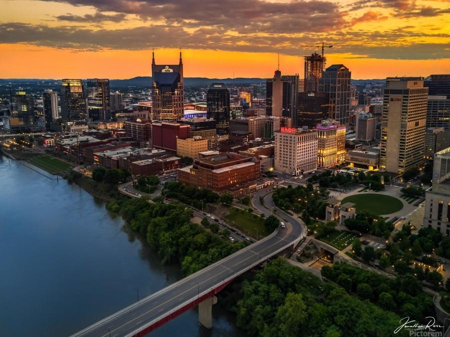 Nashville Sunset  Print