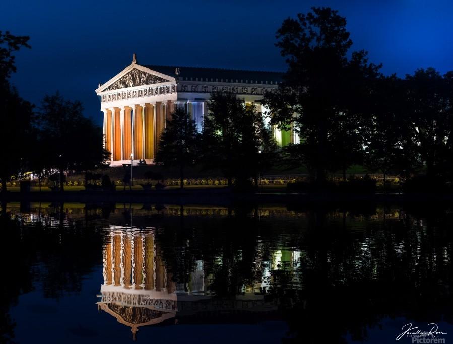 Parthenon in Nashville  Print