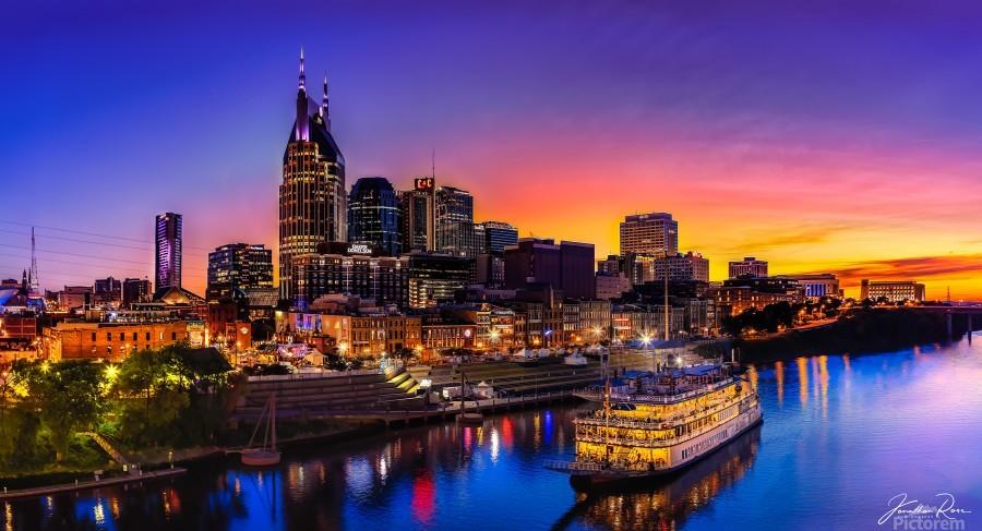 Nashville and General Jackson   Print