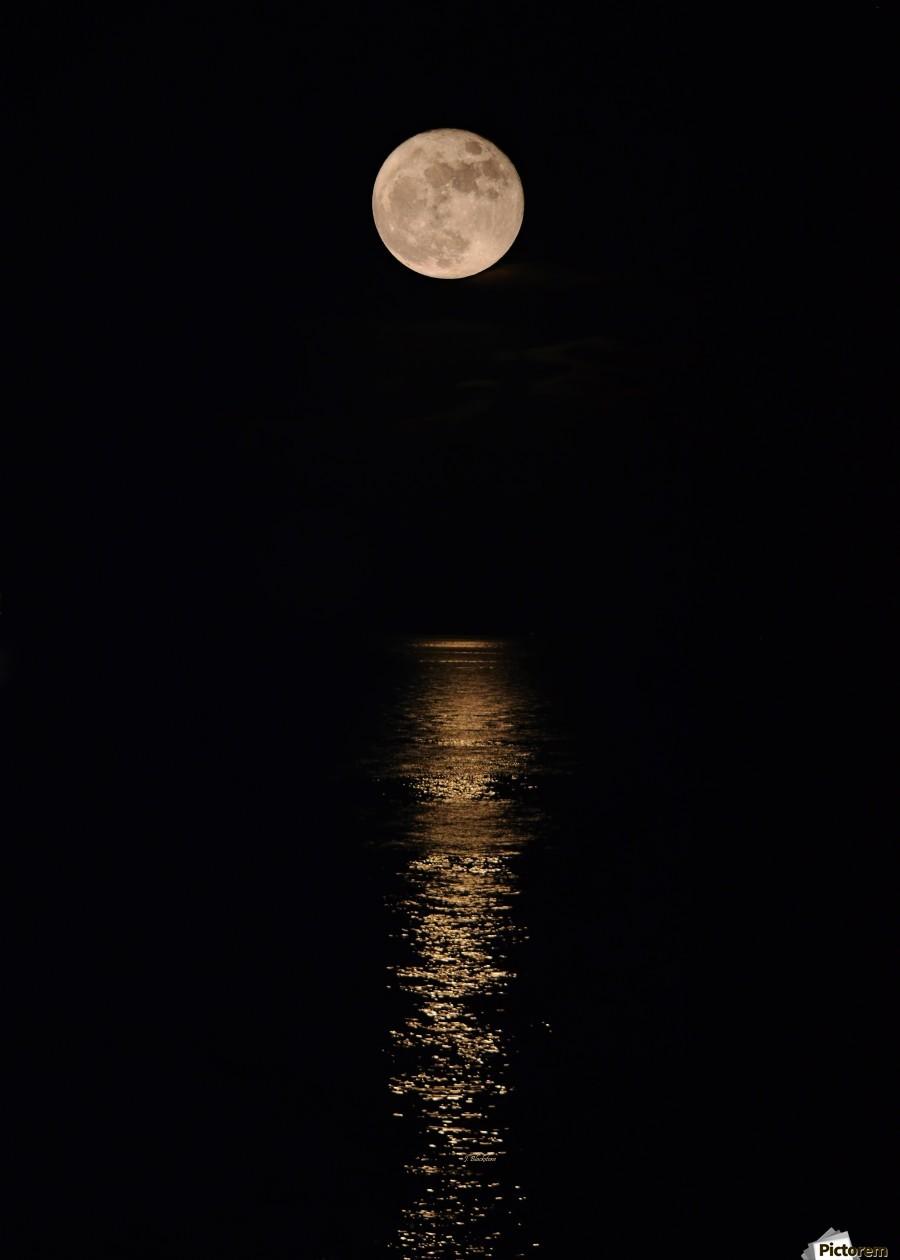 Holiday Magic - Lunar Art by Jordan Blackstone  Print