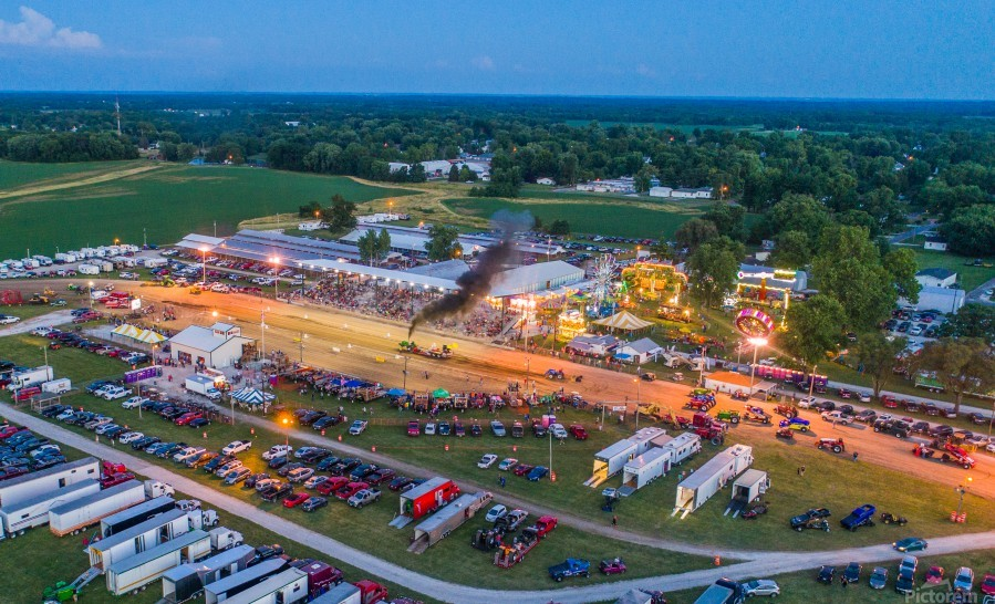 2017 Schuyler Co Fair Tractor Pull  Print