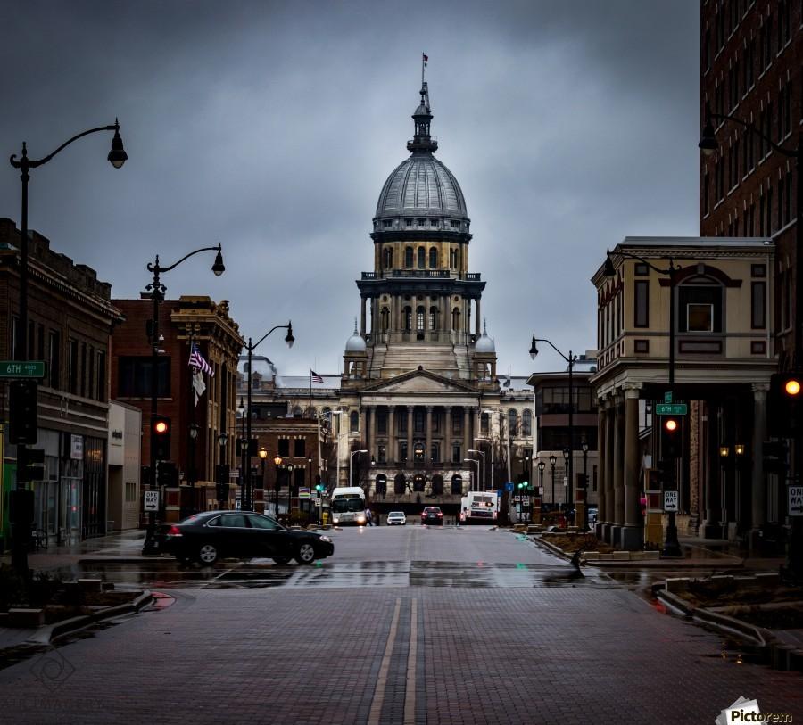 Illinois State Capitol  Print