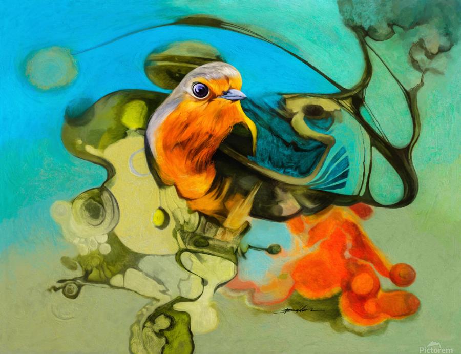 Bird of the nest  Print