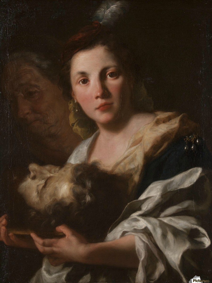 Judith with the head of Holofernes  Print
