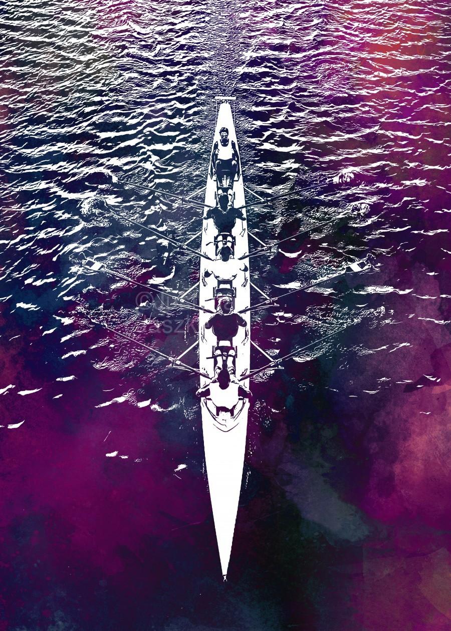 Swimmer sport art   Print