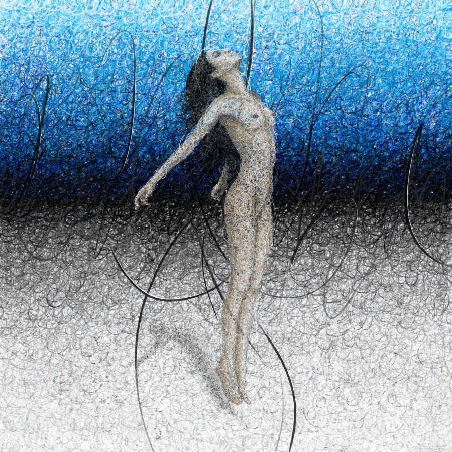Ascension - Blue  Print