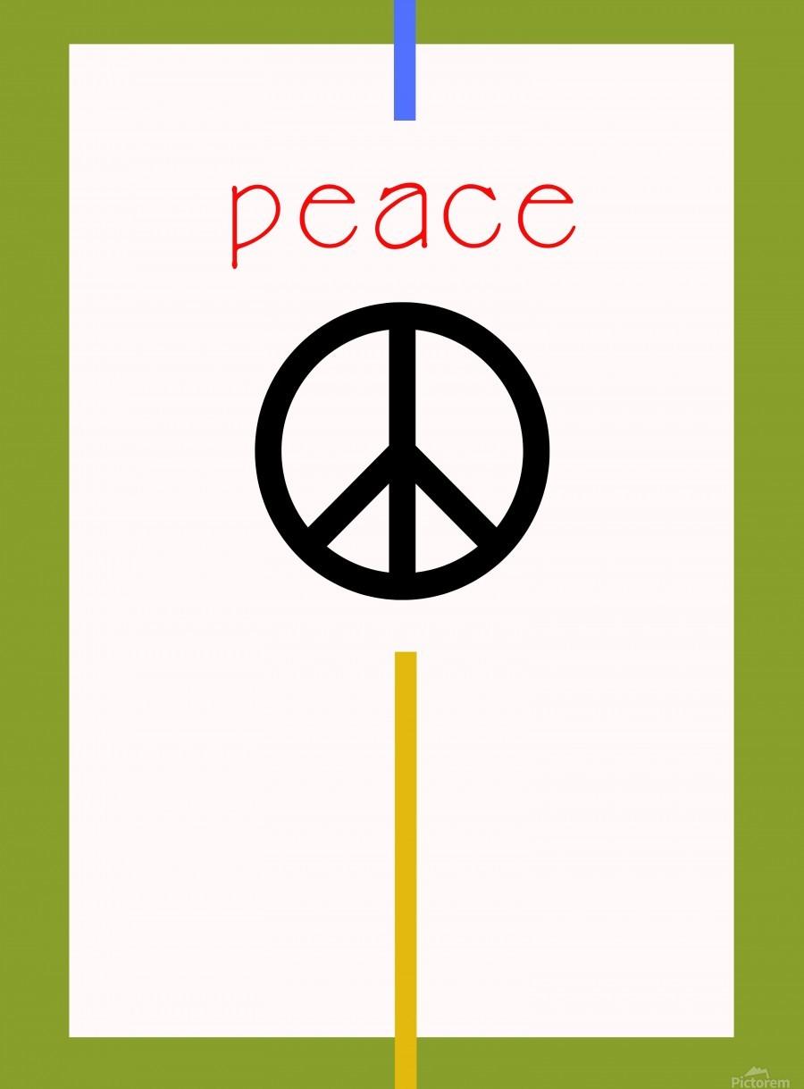 PEACE  Print