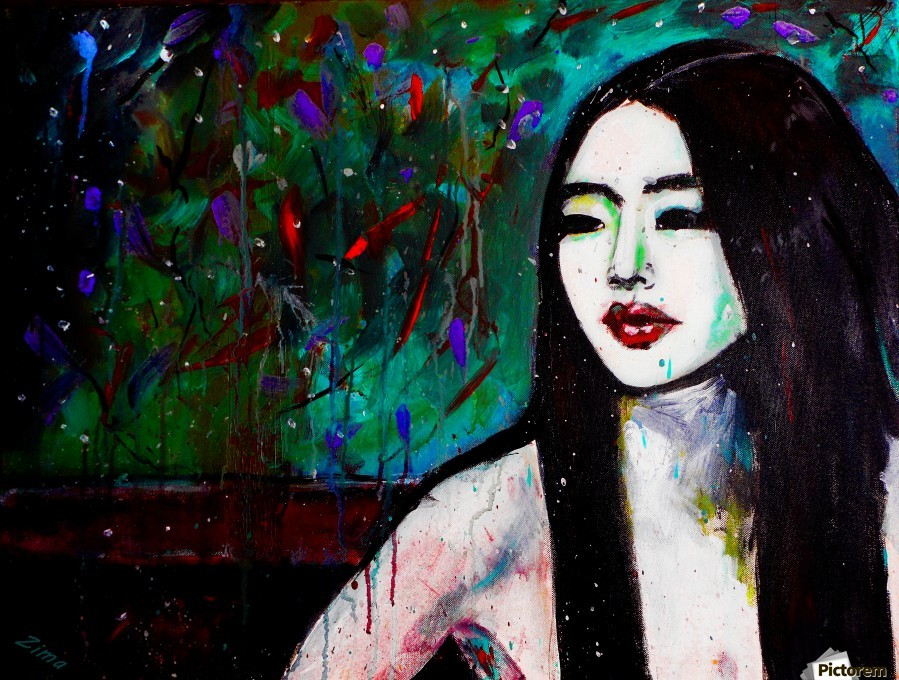 Asian Girl  Print