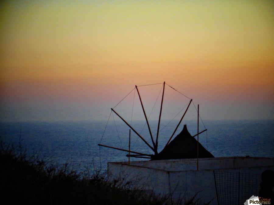 Santorini Sunset  Print