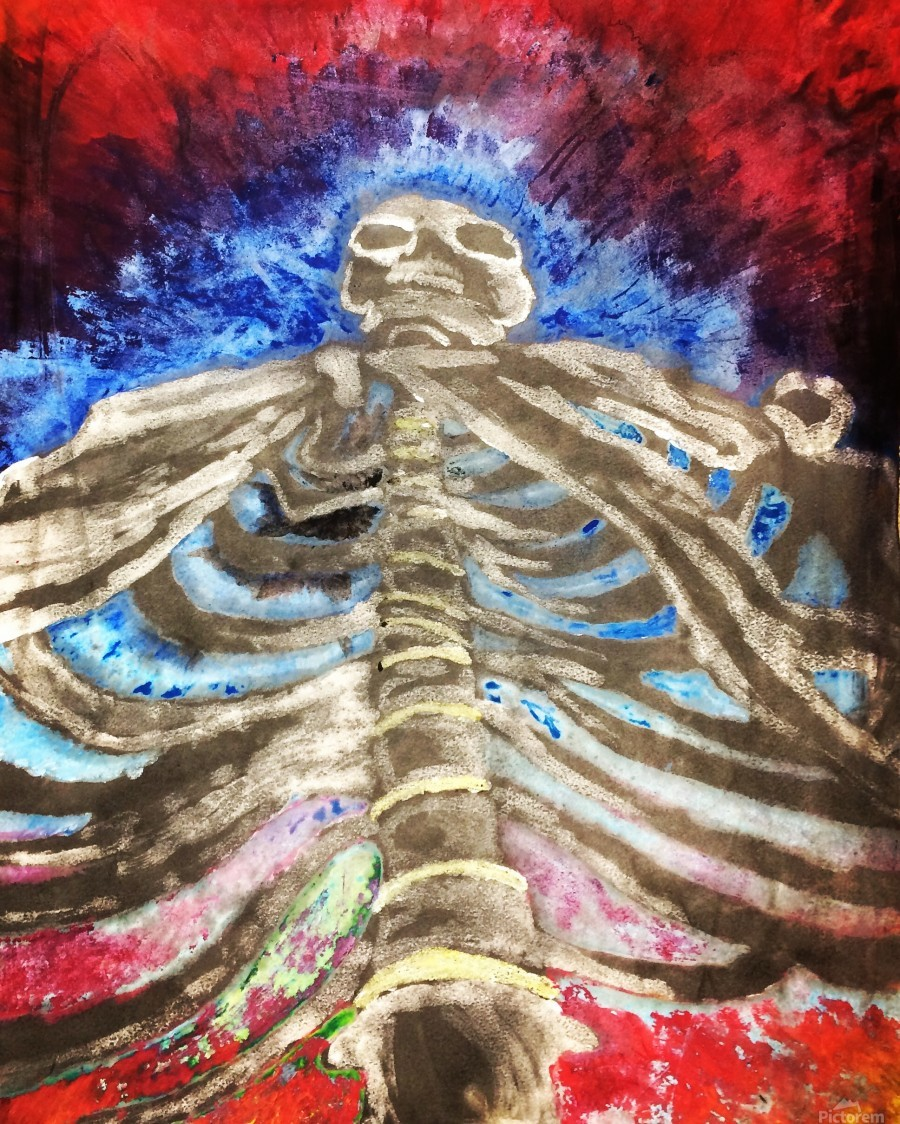 Skeleton  Print