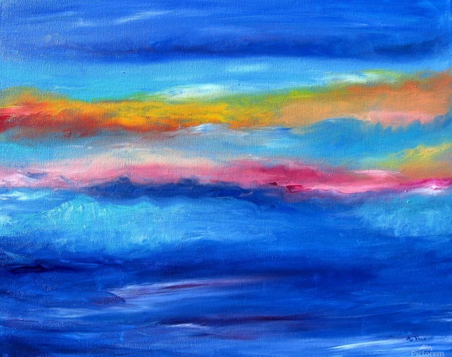 Floating Sky  Print