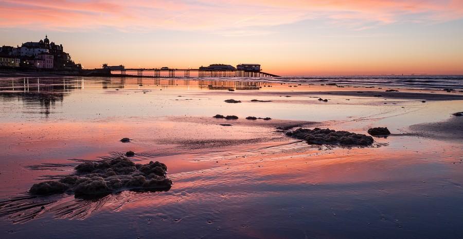 Pier Sunset  Print