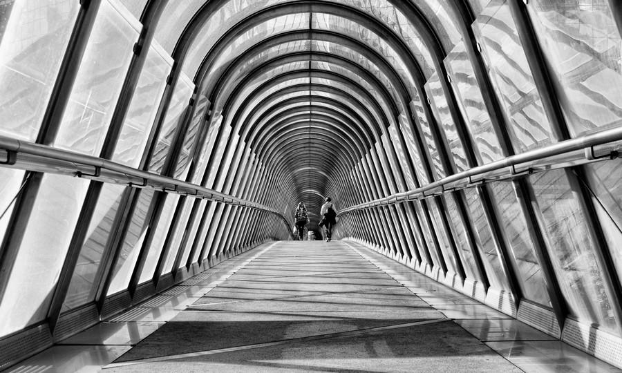 Parisienne Walkway  Print