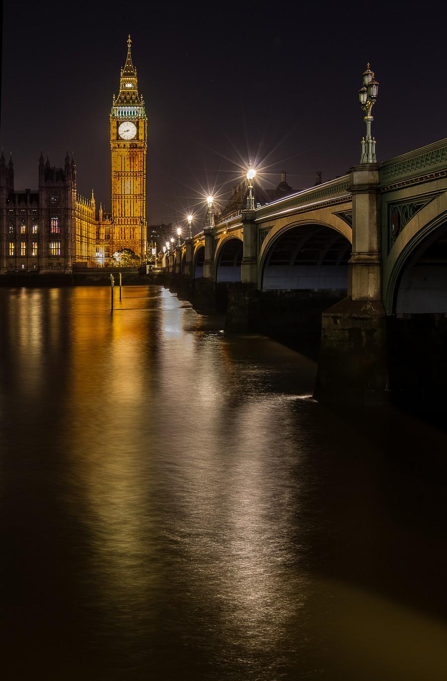 Houses of Parliament, London  Print