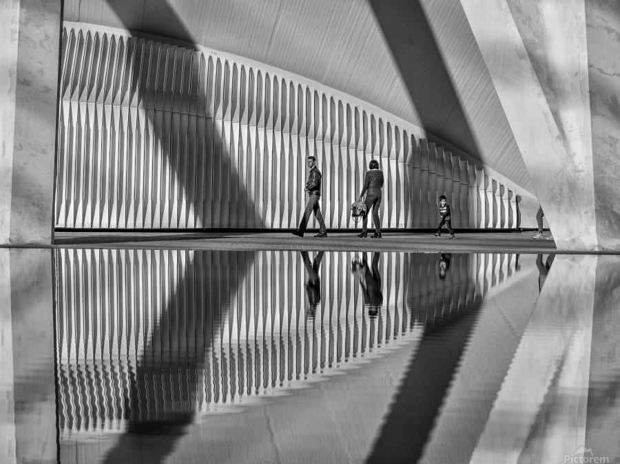 Valencia shadows  Print