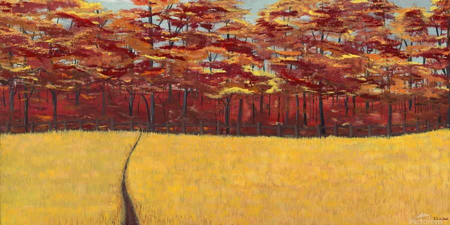 Dreams of Autumn  Print