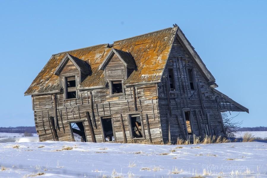 Abandoned Farm House  Print