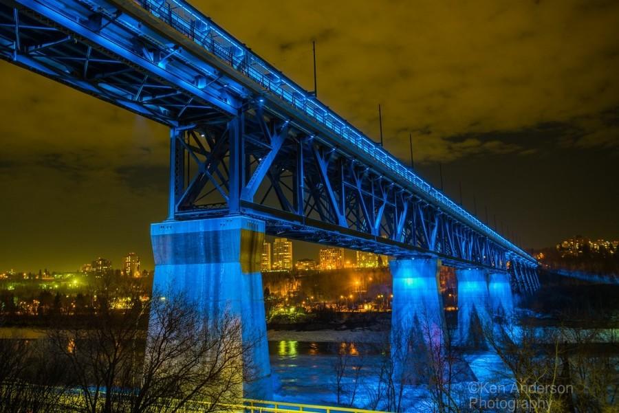 Blue Bridge  Print
