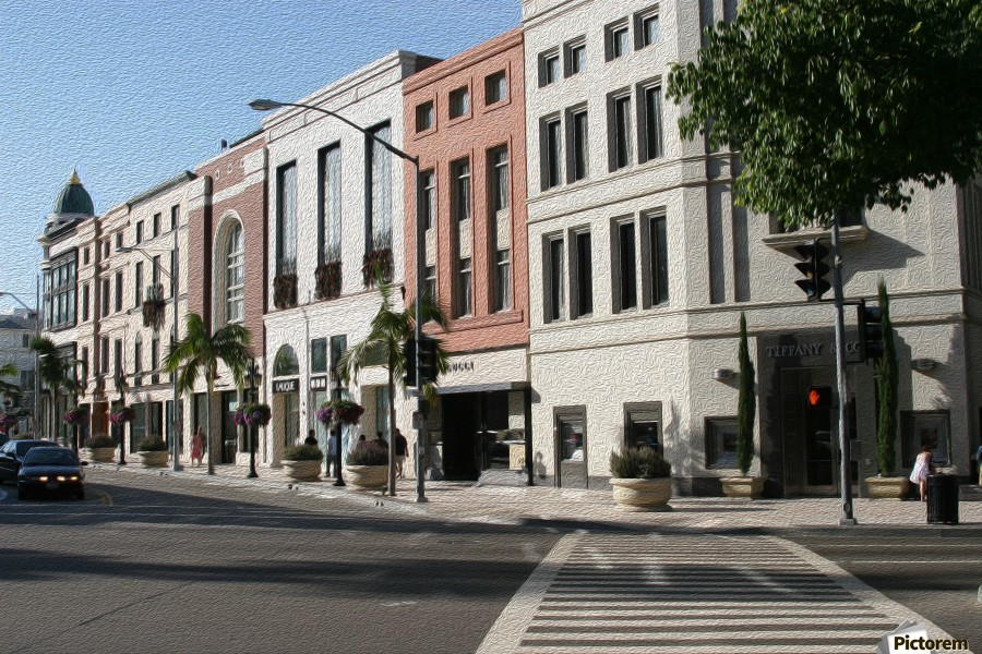 North Rodeo Drive  Print