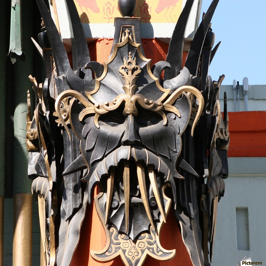 Mask at Grauman's Chinese Theater  imprimons