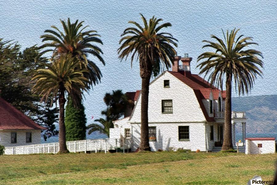 House at San Francisco Presidio Park  Print