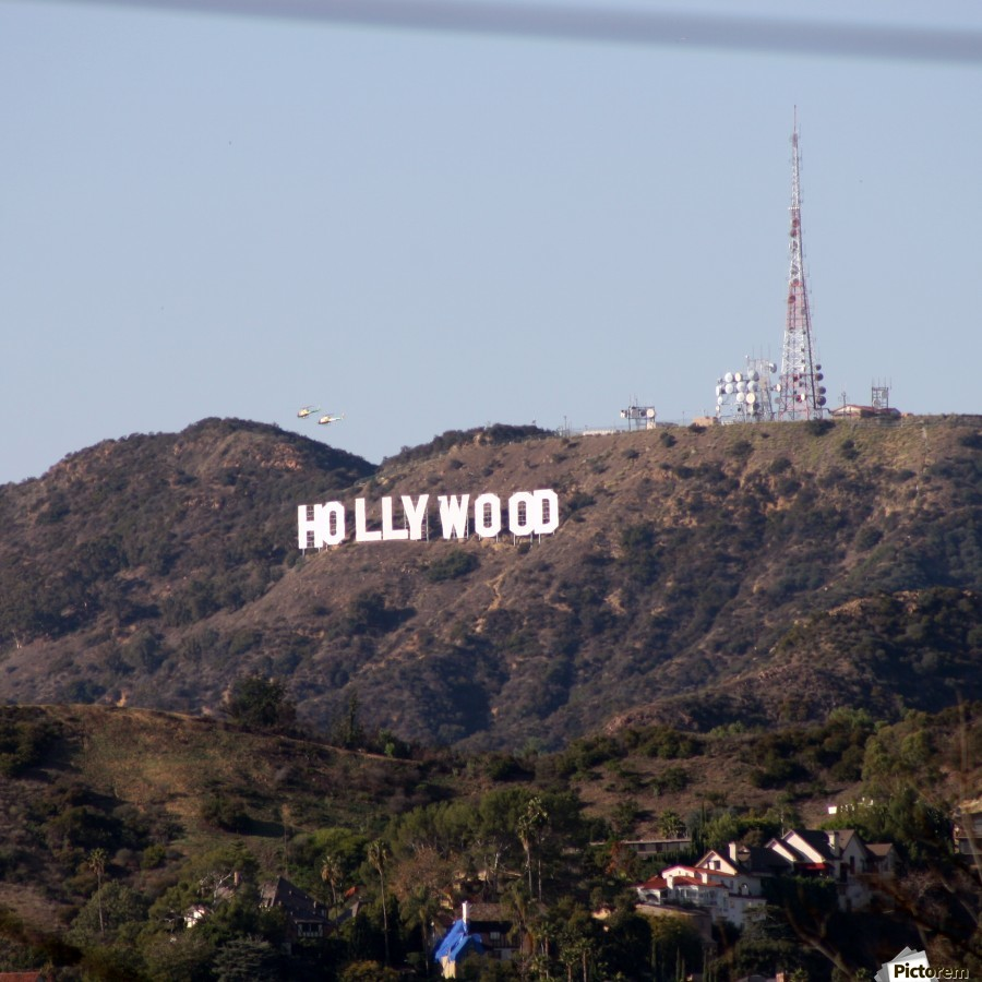 Hollywood and Helicopters  Print
