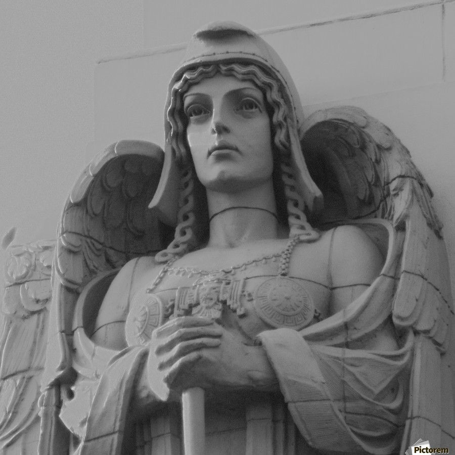 Guardian Angel on Watch  Print