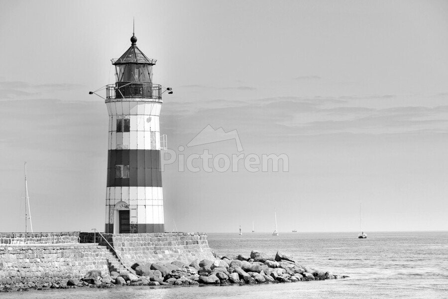 Lighthouse Maasholm  Print