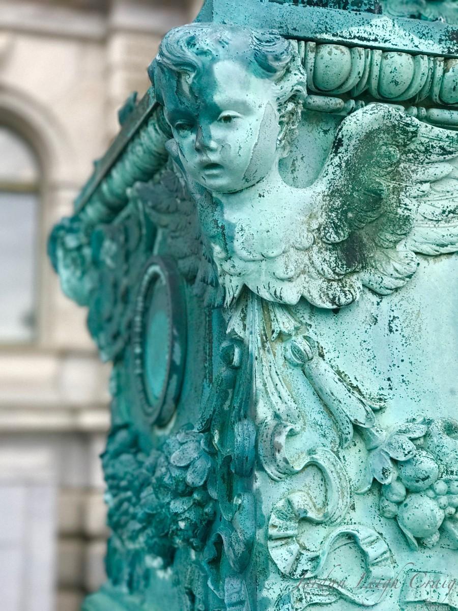 Capital Statues  Print