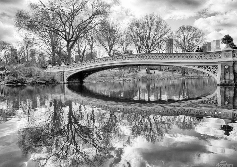 Bow Bridge  Print