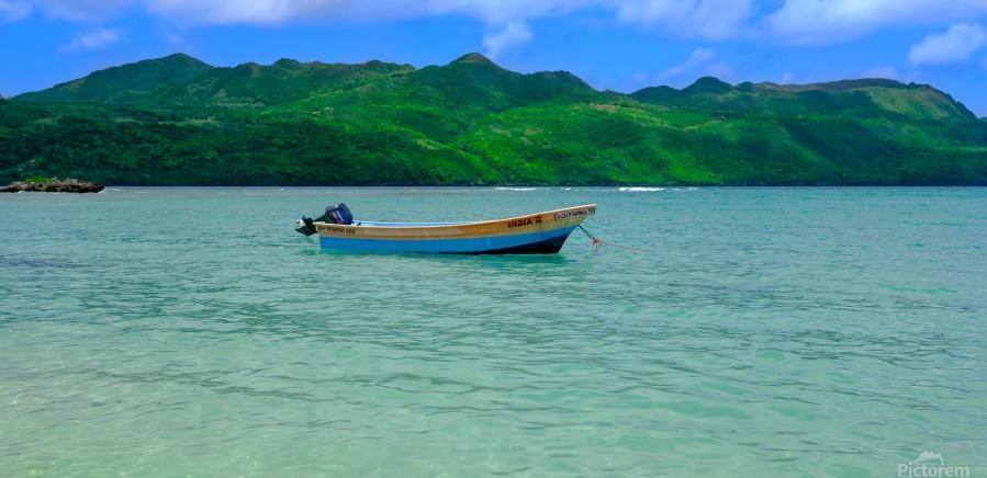Samana Beach - Playa Rincon   Print
