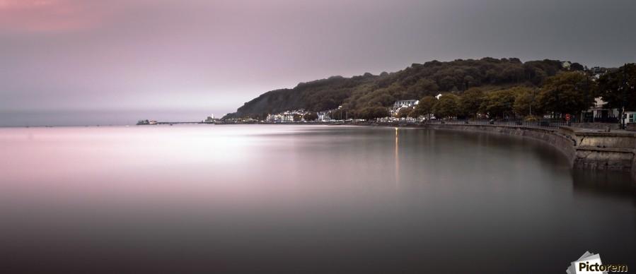 Mumbles coastline Swansea  Print