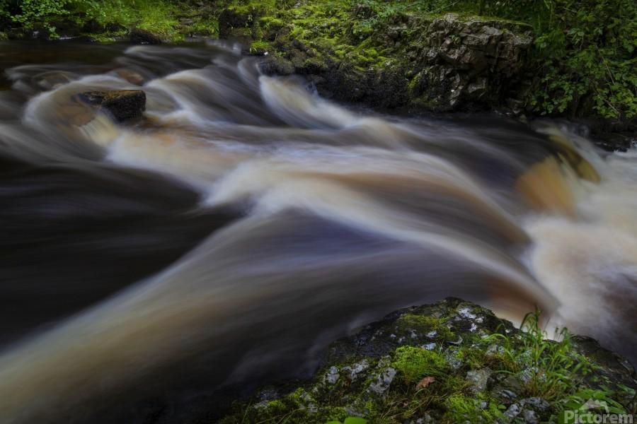 Waterfall Country at Pontneddfechan  Print