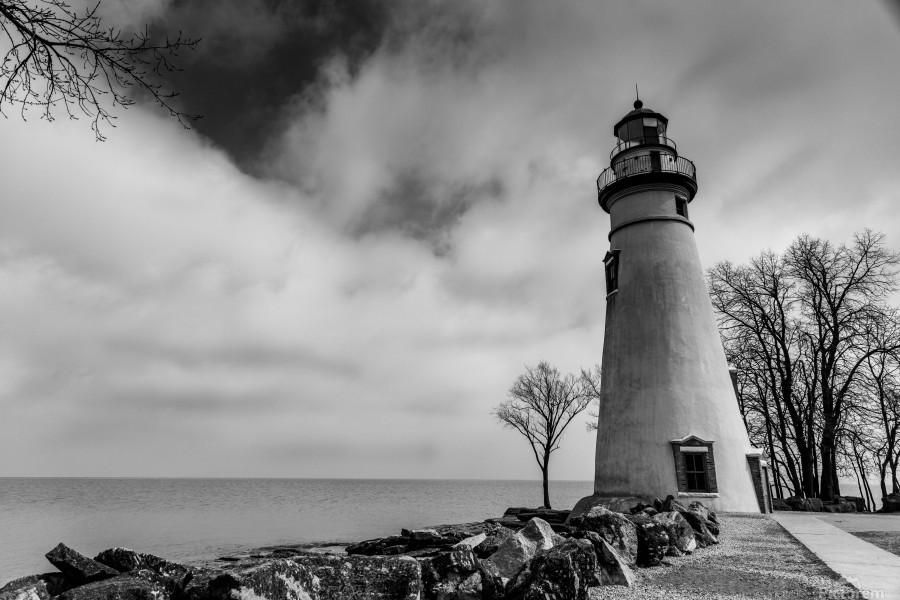 Marblehead Lighthouse 1  Print