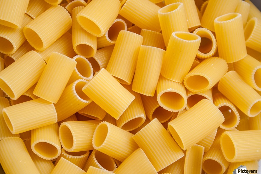 Dry pasta background   Print