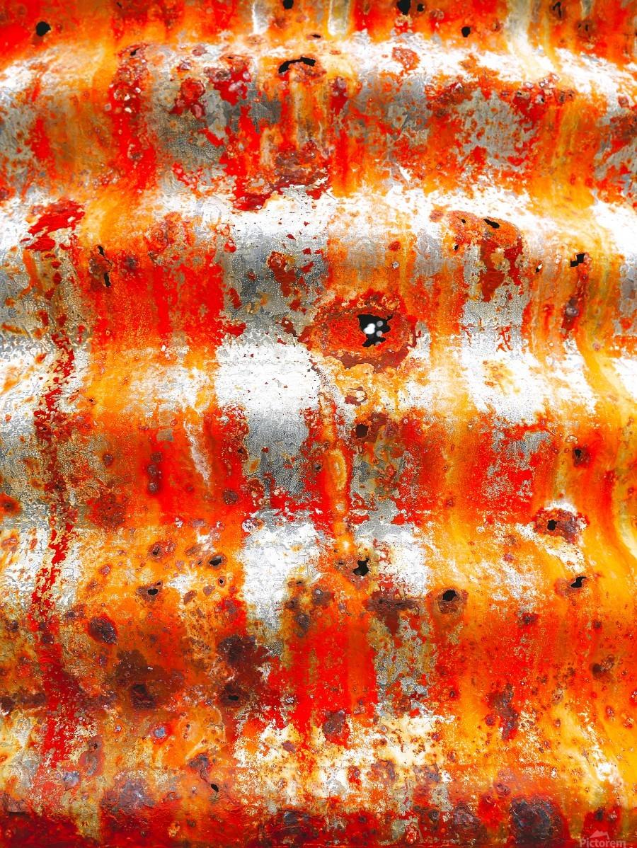 Corrugated Iron Series 13  Print