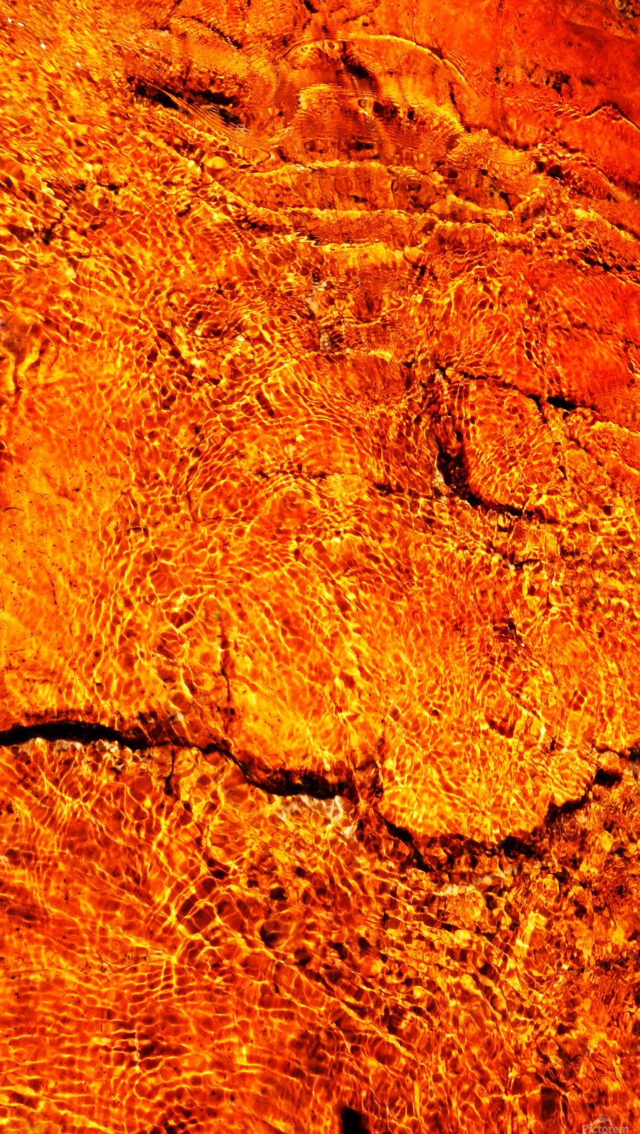 Australia Rocks - Abstract 31  Print