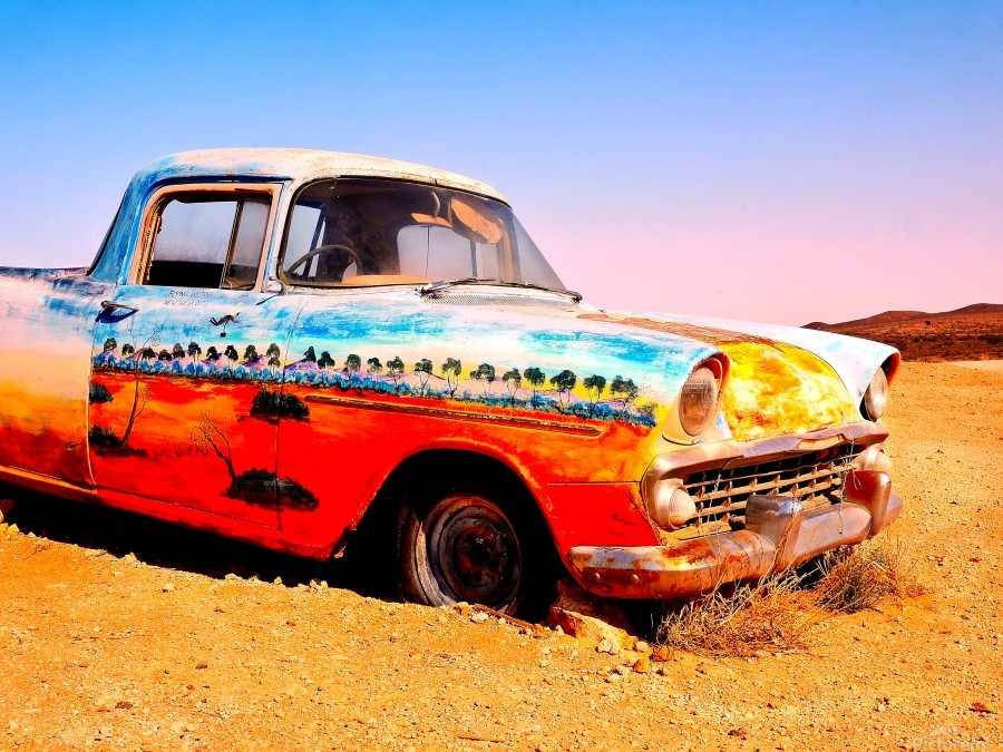 Quirky Sights of the Outback 4  Print
