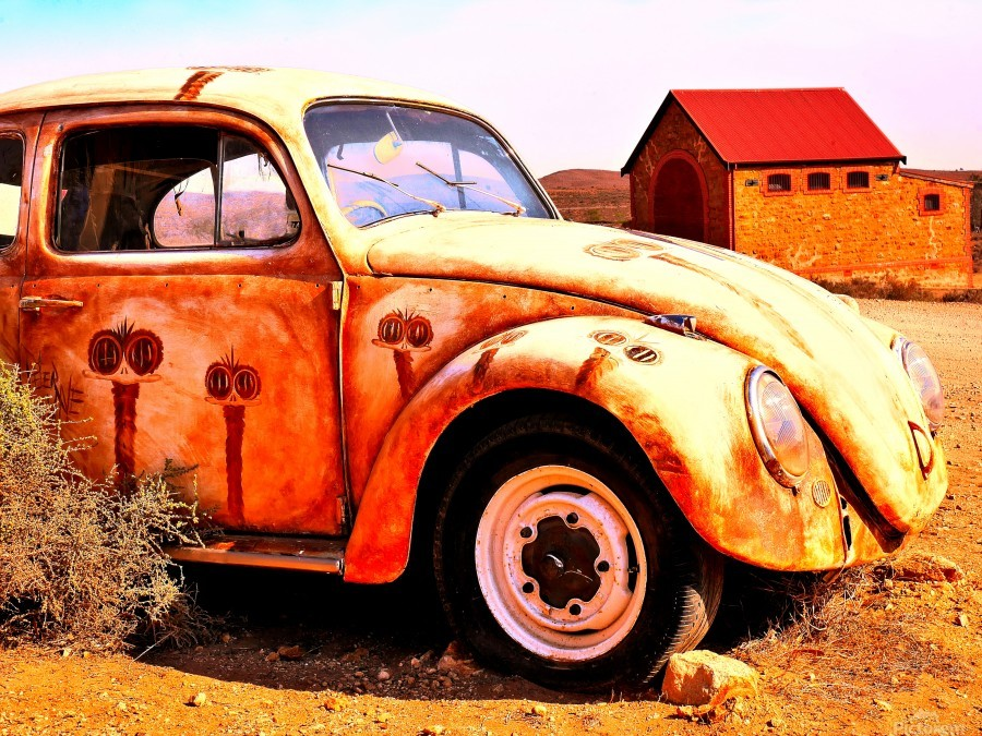 Quirky Sights of the Outback 5  Print